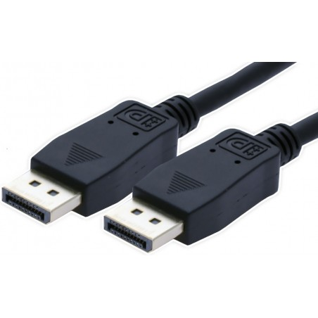 DisplayPort kabel. DP han – DP han, 0.5m