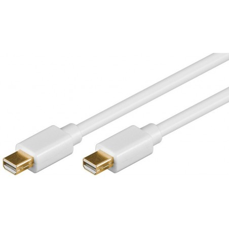 DisplayPort kabel. DP mini han – DP mini han 2,0 meter