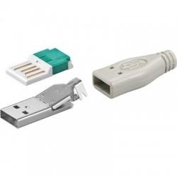Løst USB A hanstik til...