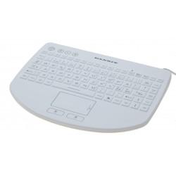 Hvidt IP68-tæt Minitastatur...