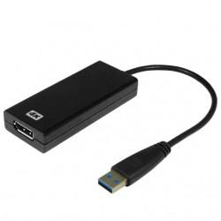 4K USB 3.0 grafikkort for...