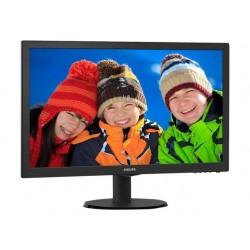 """22 """"svart LCD-skjerm med..."""
