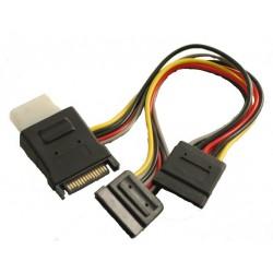 SATA strømkabel til SATA -...