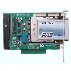 PCMCIA flash memory læser...