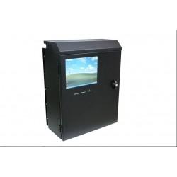 4U wall mount kabinet med VGA