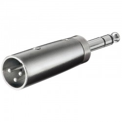 XLR adapter 3-pin XLR han –...
