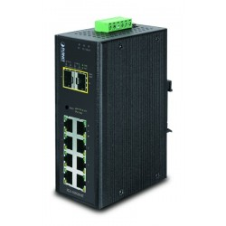 10 porter Gbit-bryter 8 x...