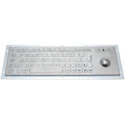 IP65 rustfrit stål tastatur...