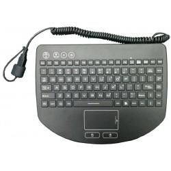 Svart IP68 tæt minitastatur...