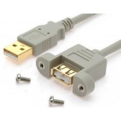USB 2.0 kabler med...