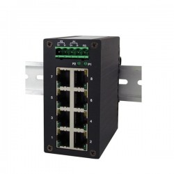 8 porter 10/100/1000Mbit...