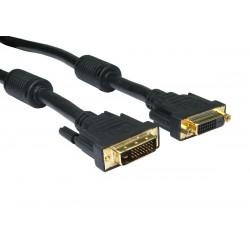 DVI-I kabel. Dual Link,...
