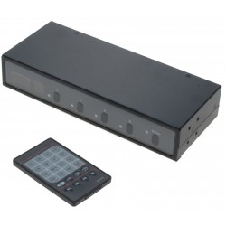 2 x 4 VGA matrix med lyd,...