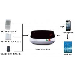 GSM Alarm System. Trådløst...