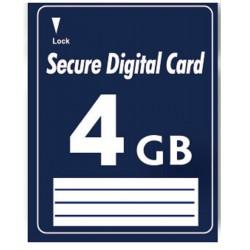 4 GB SD Secure Digital...