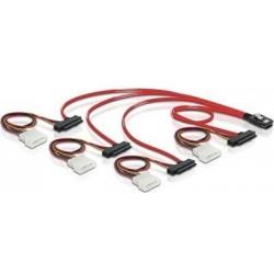 SAS kabel, SFF8087 til 4x...