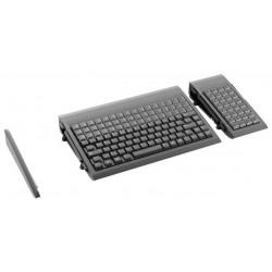 Sort numerisk POS tastatur med 32 taster og 12 programmerbare
