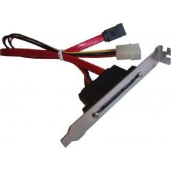 SATA150 kabel med bagplade,...