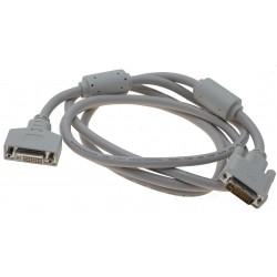 DVI kabel. Analogt (-|1),...