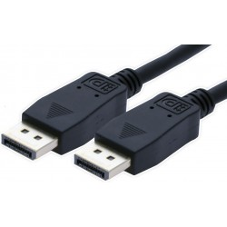 DisplayPort kabel. DP han –...