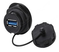 Waterproof USB plug / USB cables